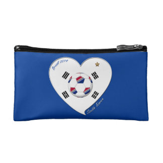 SOUTH KOREA SOCCER flag national team 2014 Makeup Bag