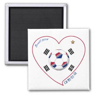 South Korea SOCCER national team flag 대한민국 Fridge Magnets