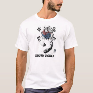 South Korea Soccer Tshirt
