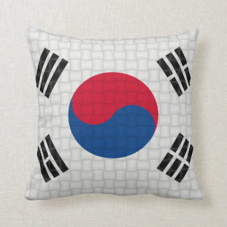 South Korea South Korean flag Throw Pillow