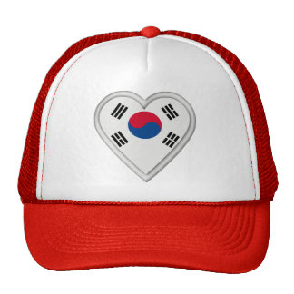 South Korea South Korean flag Trucker Hat
