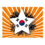 South Korea Star Postcard