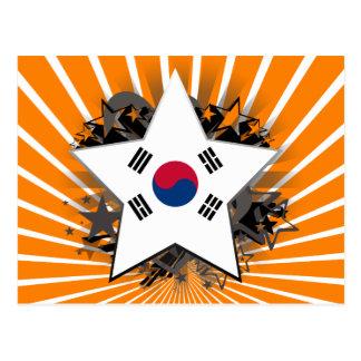South Korea Star Postcard