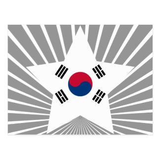 South+Korea Star Post Cards