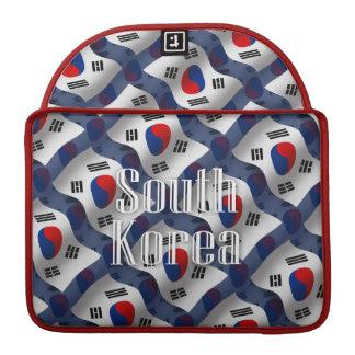 South Korea Waving Flag Sleeve For MacBooks