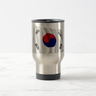 South Korea Waving Flag Mug