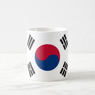 South Korea World Flag Mug
