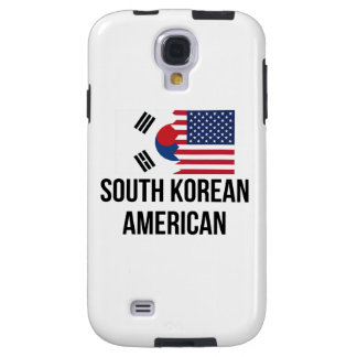 South Korean American Flag Galaxy S4 Case