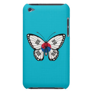 South Korean Butterfly Flag Barely There iPod Cover