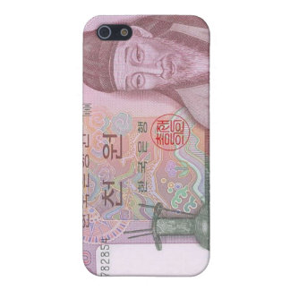 South Korean Currency 1000 won iPhone case