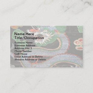 Korean business cards zazzle south korean dragon art namdaemun sungnyemun business card reheart Images