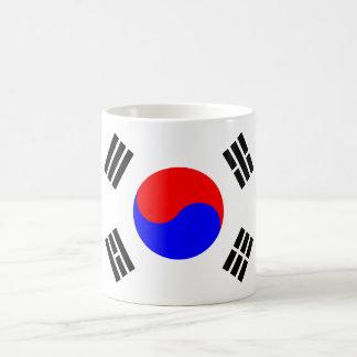 South Korean Flag 11 Oz Magic Heat Color-Changing Coffee Mug
