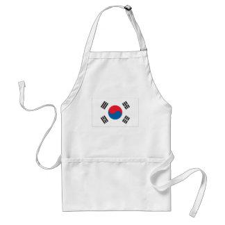 South Korean Flag Adult Apron