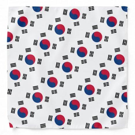 South Korean flag bandana | Colors of Korea