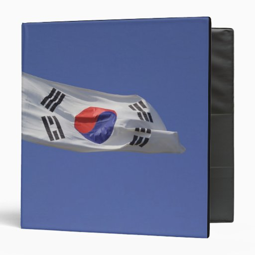 South Korean Flag Binders