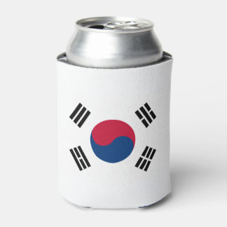 South Korean flag Can Cooler