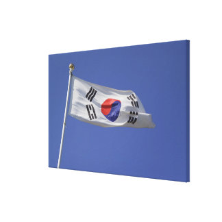South Korean Flag Canvas Print