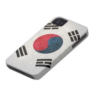 South Korean Flag Case-Mate iPhone 4 Cases