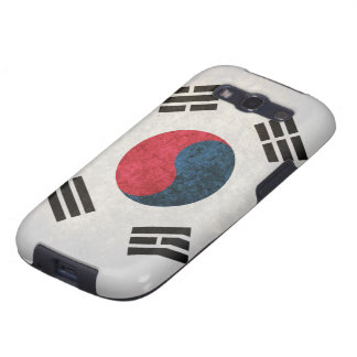South Korean Flag Samsung Galaxy S3 Case