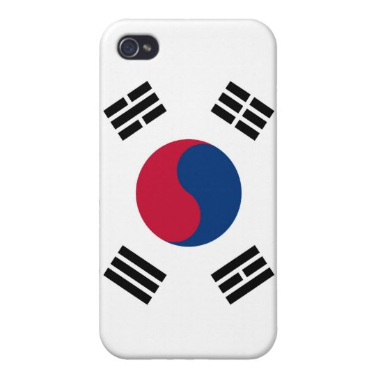 South Korean Flag Case For iPhone 4