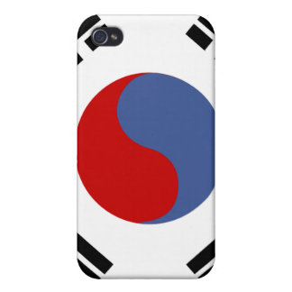 South Korean Flag Cover For iPhone 4