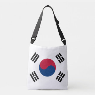 South Korean Flag Crossbody Bag