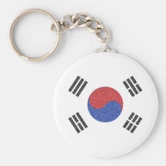 South Korean Flag Keychain