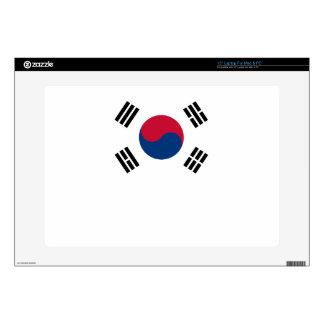 South Korean Flag Laptop Skin