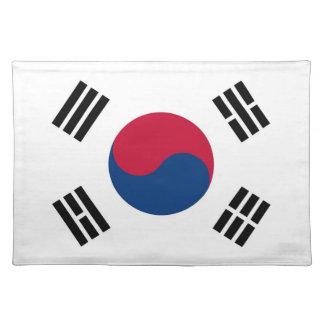 South Korean Flag on MoJo Placemat