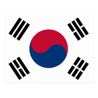 South Korean Flag Postcard