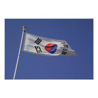 South Korean Flag Poster