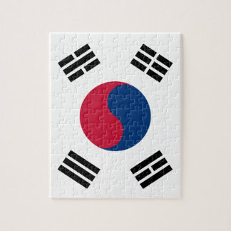 South Korean Flag Puzzle