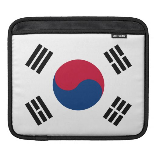 South Korean Flag Sleeves For iPads