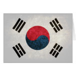 South Korean Flag Stationery Note Card