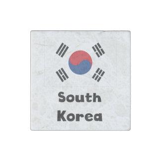 South Korean Flag Stone Magnet