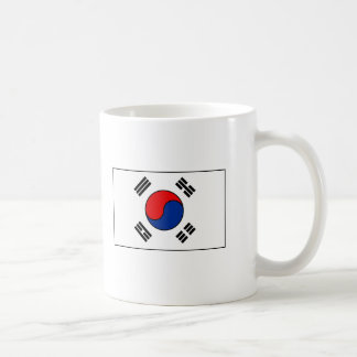 South Korean Flag T-shirts and Gifts Coffee Mugs