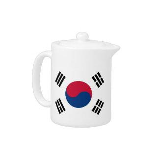 South Korean Flag Teapot