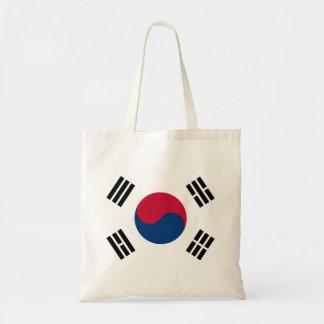 South Korean Flag Tote Bag