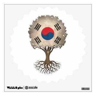 South Korean Flag Tree of Life Customizable Room Graphics