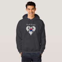South Korean heart Hoodie