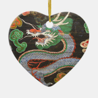 South Korean Namdaemun Sungnyemun Dragon Ceramic Ornament