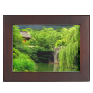 South Korean Pond Memory Box