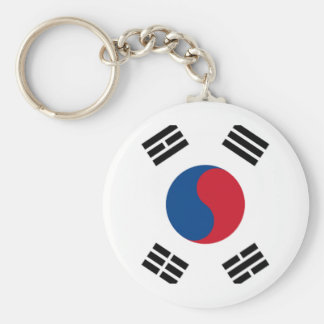 South Korean Pride Keychain