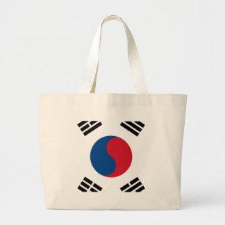 South Korean Pride Large Tote Bag