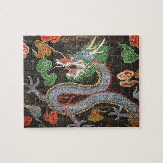 South Korean Seoul Namdaemun Asian Dragon Puzzle