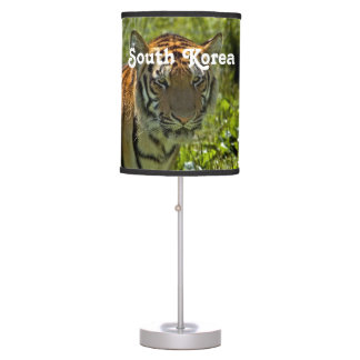 South Korean Tiger Table Lamp