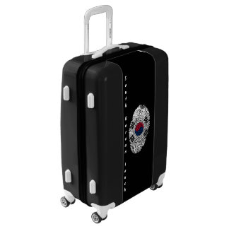 South Korean touch fingerprint flag Luggage