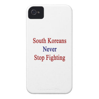 South Koreans Never Stop Fighting iPhone 4 Case-Mate Case