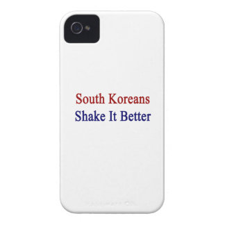 South Koreans Shake It Better Case-Mate iPhone 4 Cases