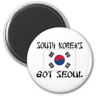 South Koreas Got Seoul 2 Inch Round Magnet